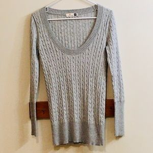 GAP Cable-Knit Pullover Long Sleeve Sweater XS